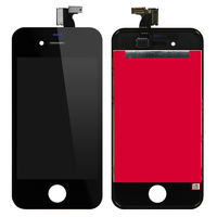 20PCS Lot LCD Screen Display With Touch Screen Digitizer Assembly For IPhone 4S 4 Screen Replacement