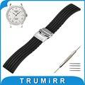 17mm 18mm 19mm 20mm 21mm 22mm 23mm 24mm faixa de relógio de borracha de silicone para tissot 1853 alça de pulso pulseira cinto