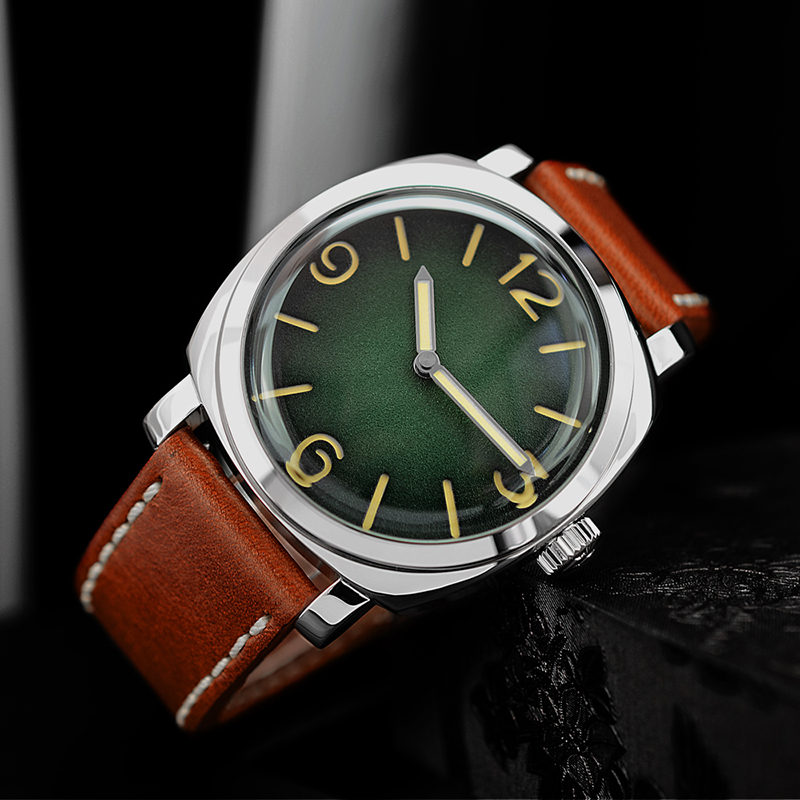 Men Fashion Watch Automatic Diving Watches 200m Water Resistant Luminous Hands Vintage San Martin Stainless Steel