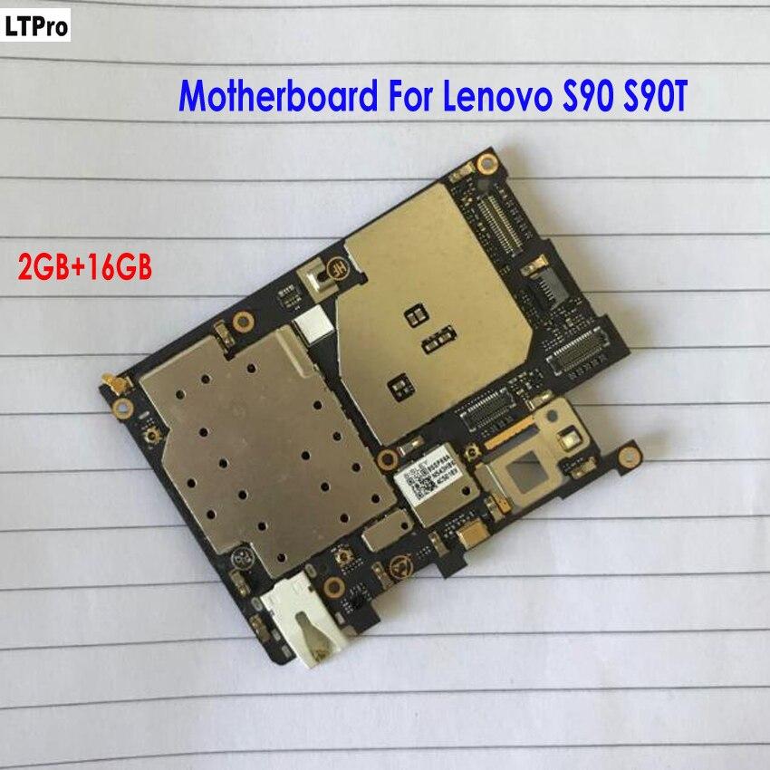 LTPro Getestet Verwendet Ursprünglichen Arbeits 2 gb RAM + 16 gb ROM Mainboard Für Lenovo S90 S90T Motherboard Handy teile