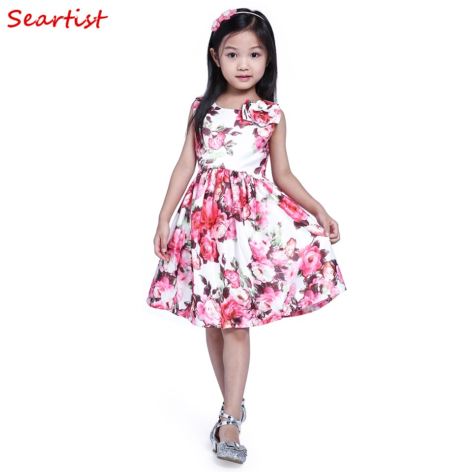 Seartist Baby Mädchen Kleid Prinzessin Geburtstagsfeier Vestido ...