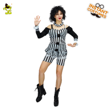 2018 Woman Sexy Clown Costume Carnival Party Role Play Joker Outfits for Women Halloween Cosplay Fancy  sc 1 st  AliExpress.com & Buy mime costume and get free shipping on AliExpress.com