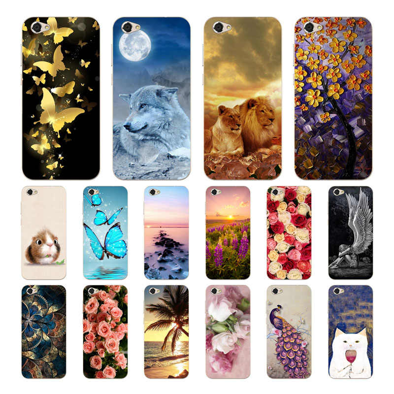 Geruide For ZTE Blade A6 Lite Case Cover, Fashionable Soft TPU Silicone Back Cover Cases for ZTE A6 Lite A0622 Cell Phone Cases