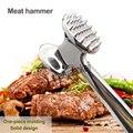 Коммерческий молоток для отбивания мяса интегрированная говядина из нержавеющей стали молоток для мяса нежный молоток для мяса sirloin инстру...