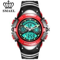 SMAEL Children LED Display Digital Watch 30M Waterproof Kids Sport Watches Multifunction Electronic Boy Girl Student