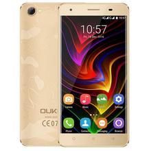 Oukitel c5 pro mtk6737 quad core pantalla de 5.0 pulgadas hd Smartphone 2000 mAh Android 6.0 Del Teléfono Celular 2 GB RAM + 16 GB ROM Móvil teléfono