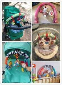 Image 5 - SOZZY bébé suspendus jouets poussette lit berceau pour Tots lits hochets siège peluche poussette Mobile cadeaux animaux zèbre hochets 40% de réduction