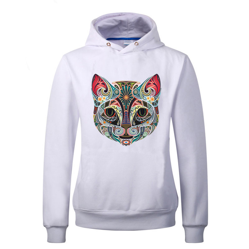 10pcs lot Iron on Transfers Cat With Pink Ears Patches Print On T shirt Jeans A level Washable Hot Ethnic Style Patch in Patches from Home Garden