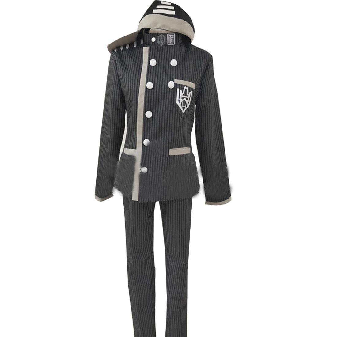 Killing Harmony Detective Saihara Shuichi Hi-Q Cosplay Costume Danganronpa V3