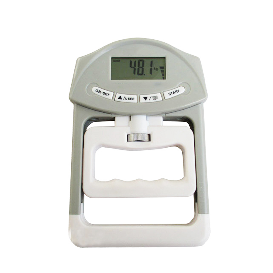 Measurement Strength Meter for Body Building Gym Exercises 90kg/198Ib Digital LCD Dynamometer Hand Grip Power basketball