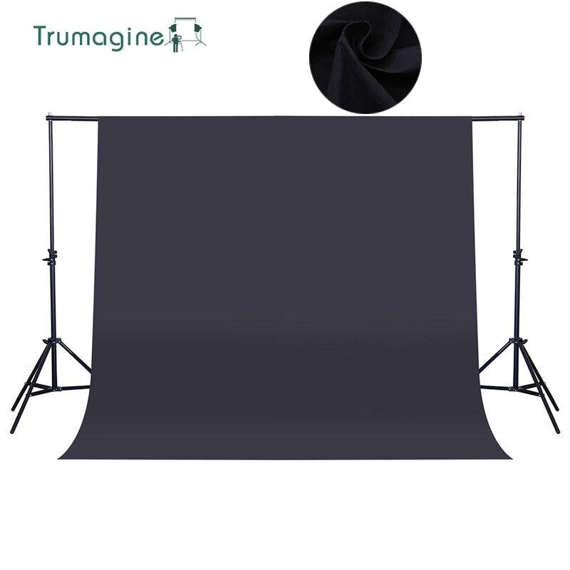 1.6*4M/5.2*13ft Black Screen Photo Background Photography Backdrops Chroma key Background For Photo Studio Non-woven Fabrics