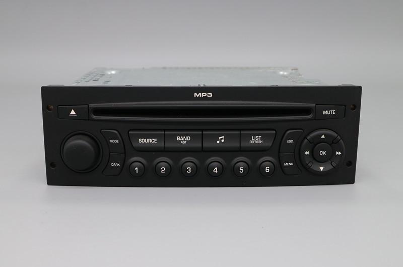 Original RD45 Car Radio USB AUX Bluetooth for Peugeot 207 206 307