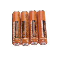 4PCS Original Panasonic AAA 1.2V 630mAh Rechargeable NiHM Battery Charging times or 1200 times Free shipping!
