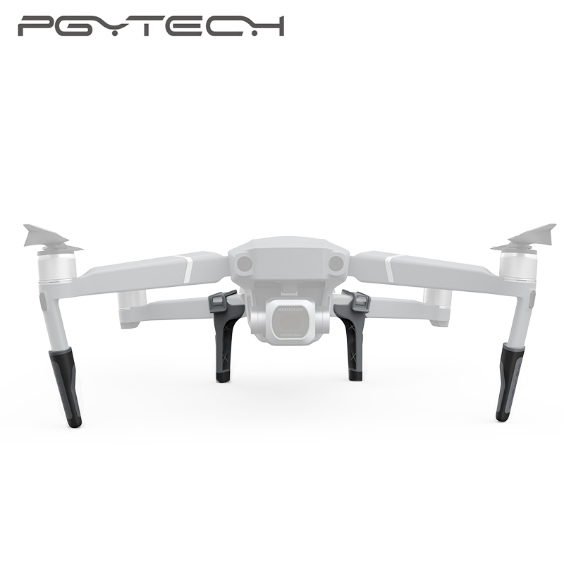 PGYTECH Mavic 2 Pro Extended Landing Gear Extension Legs Holder Skeletons for DJI Mavic 2 Zoom Landing Legs Accessories pgytech dji mavic 2 landing gear riser extended landing gear leg for dji mavic 2 pro zoom fly more combo drone accessories parts