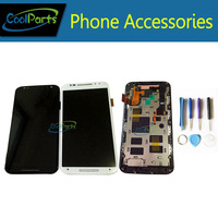 High Quality Black White Color For Motorola Moto X2 XT1097 XT 1097 LCD Display And Touch