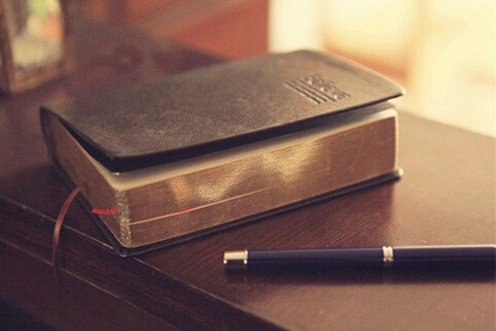 Vintage χοντρό δέρμα βιβλίο - Σημειωματάρια - Φωτογραφία 3