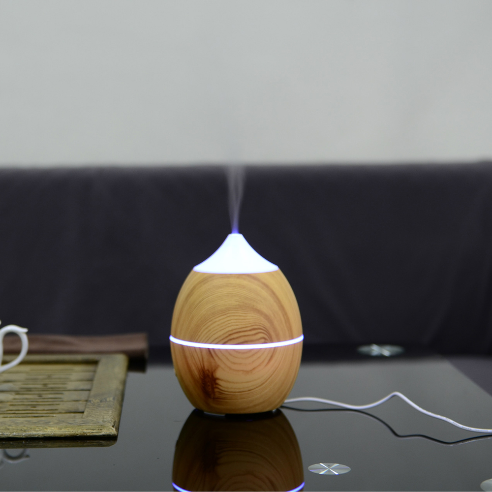 300ml Portable Essential Oil Aroma Diffuser Ultrasonic Humidifier Air Aromatherapy Atomizer Mist Maker for home aromatherapy essential oil diffuser mini home air humidifier ultrasonic portable aroma atomizer led purifier mist maker