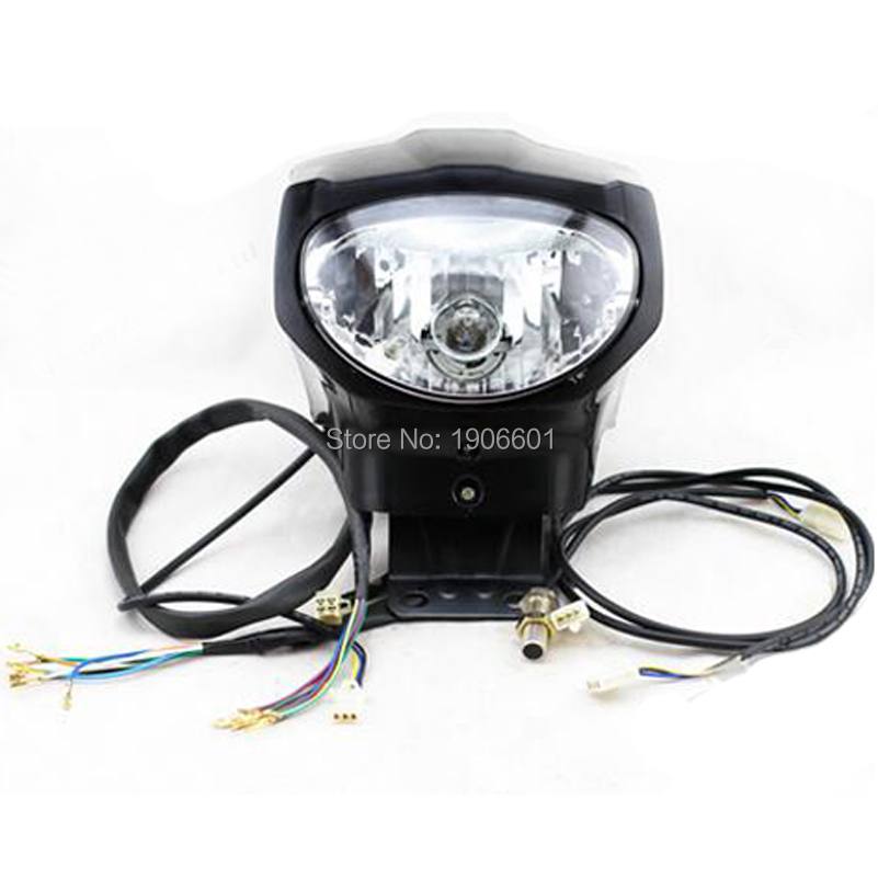 LONCIN LIFAN ZONGSHEN 150cc 250cc To 400cc ATV Quad Universal LED Digital Speedometer Odometer Euro Standard With Headlight