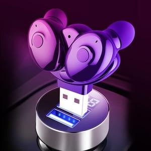 Image 5 - XG17 Bluetooth kulaklık V5.0 TWS su geçirmez Bluetooth kulaklıklar Handsfree spor evrensel kulaklık oyun kulaklığı