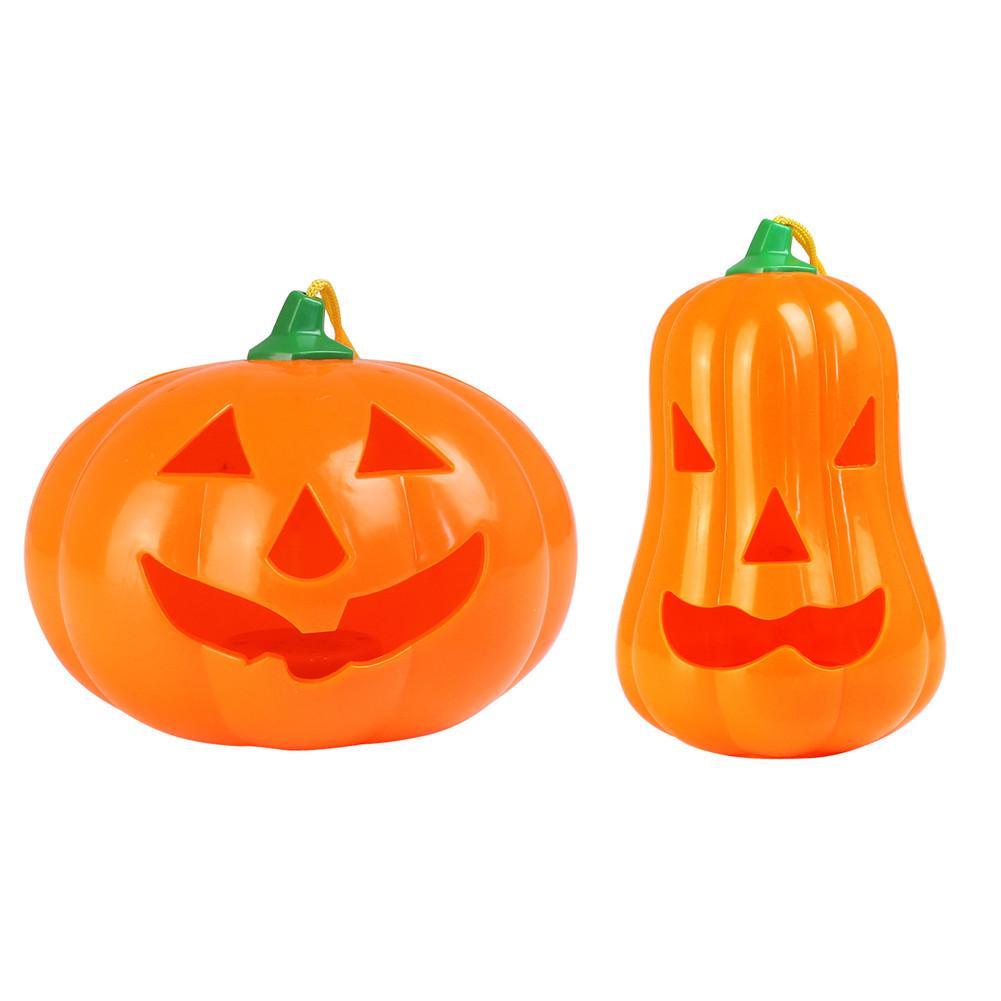 Halloween Pumpkin Lantern Funny Horror Glowing Ghost