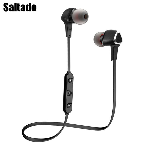 Saltado LQ-26 Wireless Bluetooth Earphones Jest Running Headset With Microphone Seductive Stereo Super Bass Headphones.