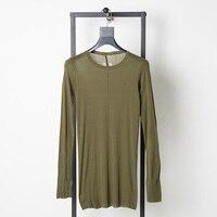 Eosnyx RO tshirt New Autumn Men Long Sleeve Loose T shirt 100% Cotton High Quality