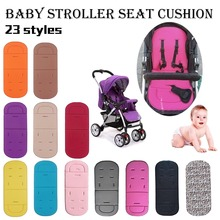 Baby Stroller Seat Cushion Kids Pushchair Car Cart High Chair Seat Trolley Soft Mattress Baby Stroller Cushion Pad Accessories baby kids children high chair cushion cover booster mats pads feeding chair cushion stroller seat cushion