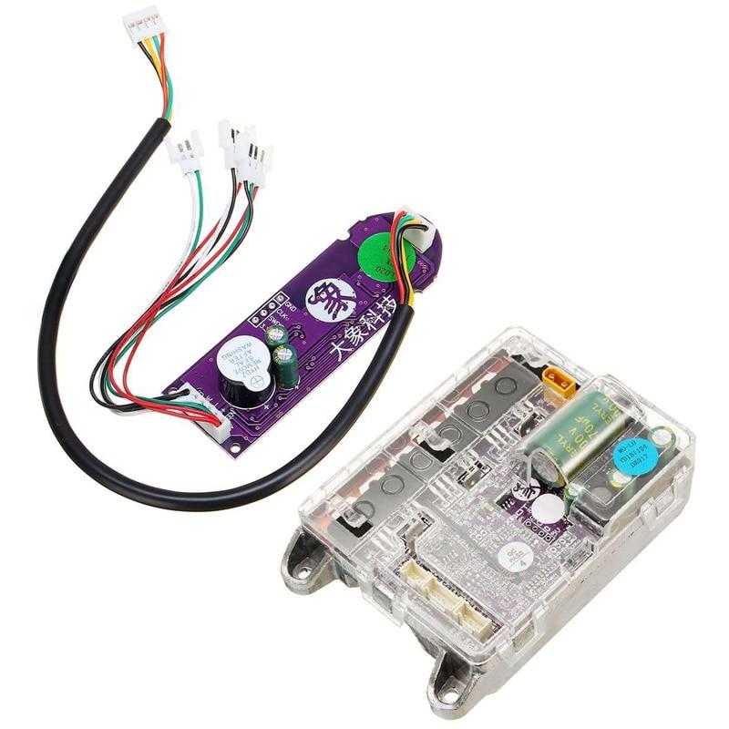 TOP!-pour Xiaomi M365 Scooter électrique carte mère contrôleur de carte mère Esc Circuit imprimé accessoires de planche à roulettes M365