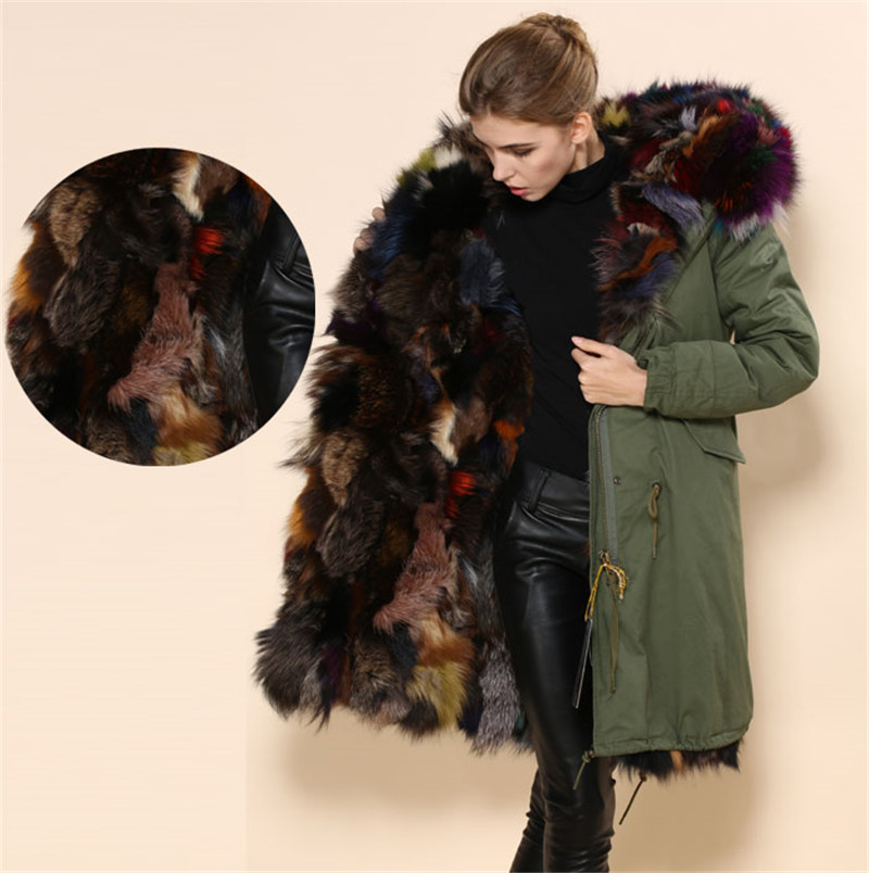 Online Get Cheap Natural Fur Parka Women -Aliexpress.com | Alibaba ...