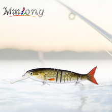 Mmlong 28.8cm 11 Jointed Sections Artificial Lure AL11-M Hard Crankbaits Trout Swimbais Fish Hook Hard Bait Fishing Tackle Pesca