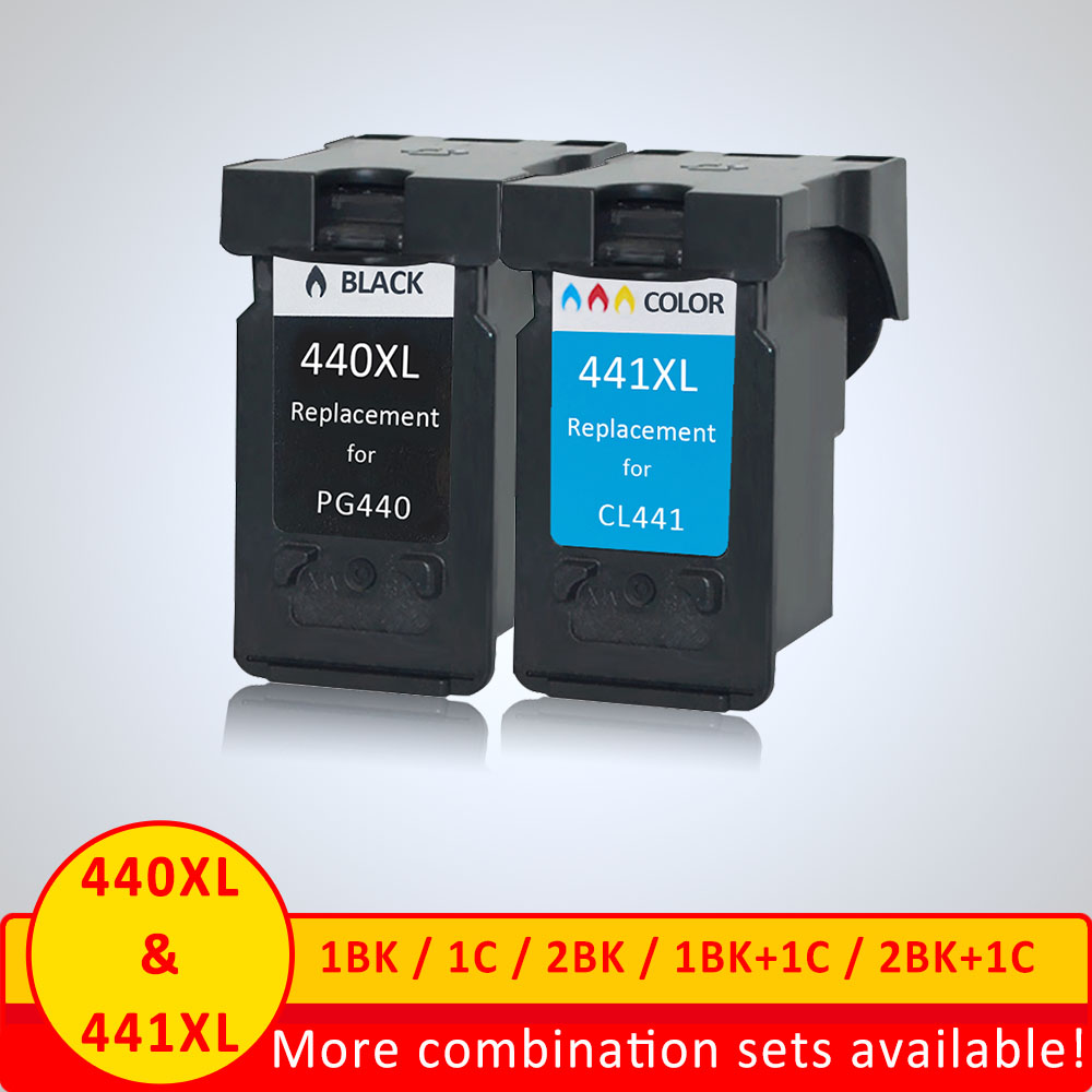 Xiangyu ink Cartridge Replacement PG-440 for <font><b>Canon</b></font> <font><b>440XL</b></font> 441XL for Printer 4280 MX438 518 378 MX438 image