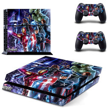 The Avengers PS4 Skin Sticker Decal Cover  For Sony PS4 PlayStation 4 Console and 2 controller skins