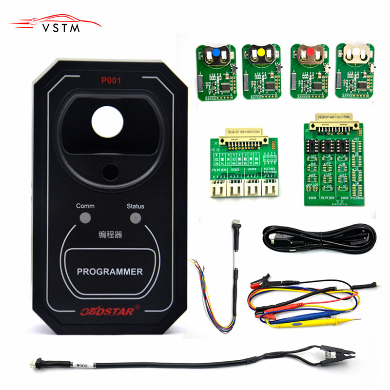 Newest OBDSTAR P001 Programmer Work with OBDSTAR X300 DP Master RFID&Renew Key&EEPROM Functions 3 in 1 OBDSTAR P001-in Auto Key Programmers from Automobiles & Motorcycles