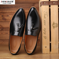 Zhengou2019 Size 38 48 Men Dress Shoes Oxford Elegant Luxury Social Wedding Designer Male Formal Shoes