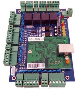 Image 1 - Tcp/ip dört kapı erişim kontrolü, ağ erişim kontrol panosu erişim sistemi/zaman katılım desteği RFID QR okuyucu sn:L04