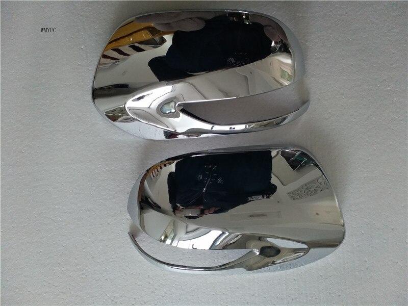 ABS Krom dikiz aynası kapağı trim 2 adet/takım subaru Forester 2009 2010 2011 2012 Oto aksesuarları
