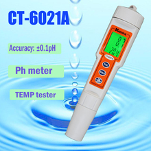 Portable pH meter Waterproof Digital Pen tester aquarium fish tank water PH Monitor free shipping