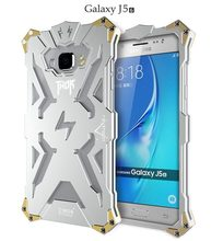 For Samsung J5 2016 J510 Aluminum Metal Case Cover for Samsung Galaxy J5 2016 Ironman Case