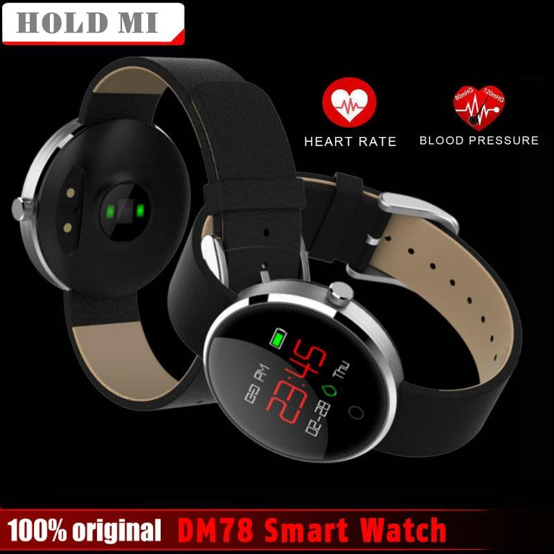 Tenir Mi DM78 Smartwatch Mode Sport Hommes Femmes Montre Smart Watch Bluetooth Dispositifs Portables Pour Android IOS Xiaomi Smart Montres