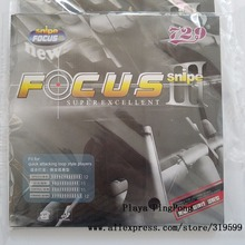 1x 729 Snipe FOCUS 3 III (Attack +Loop) Pips-In Table Tennis (PingPong) Rubber With Sponge