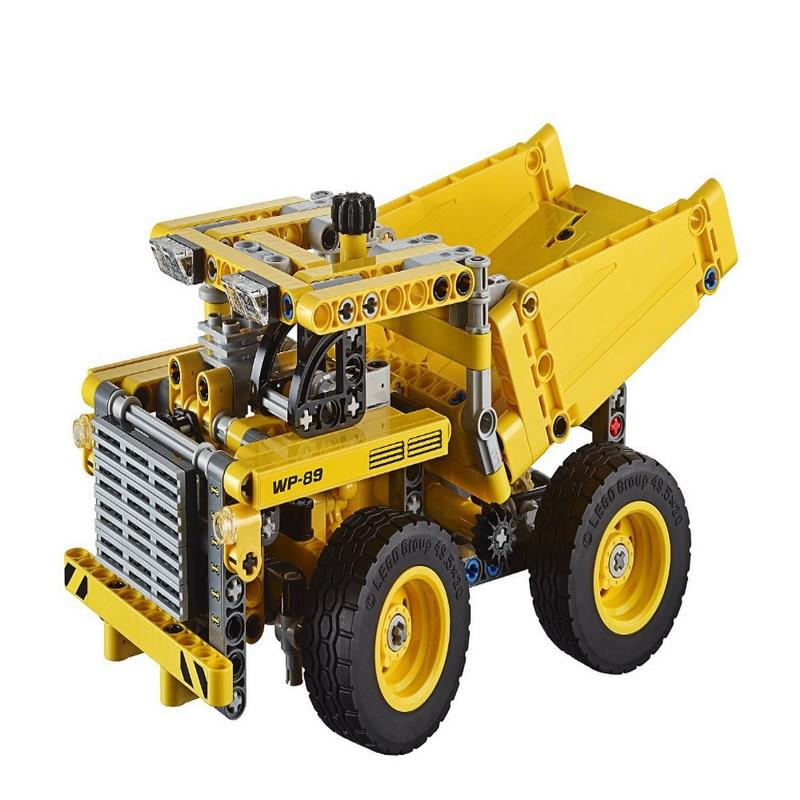 LELE Technic City Series 2-in-1 Mining Truck Car Model Building Blocks Enlighten DIY Figure Toys For Children Compatible Legoe 608pcs race truck car 2 in 1 transformable model building block sets decool 3360 diy toys compatible with 42041