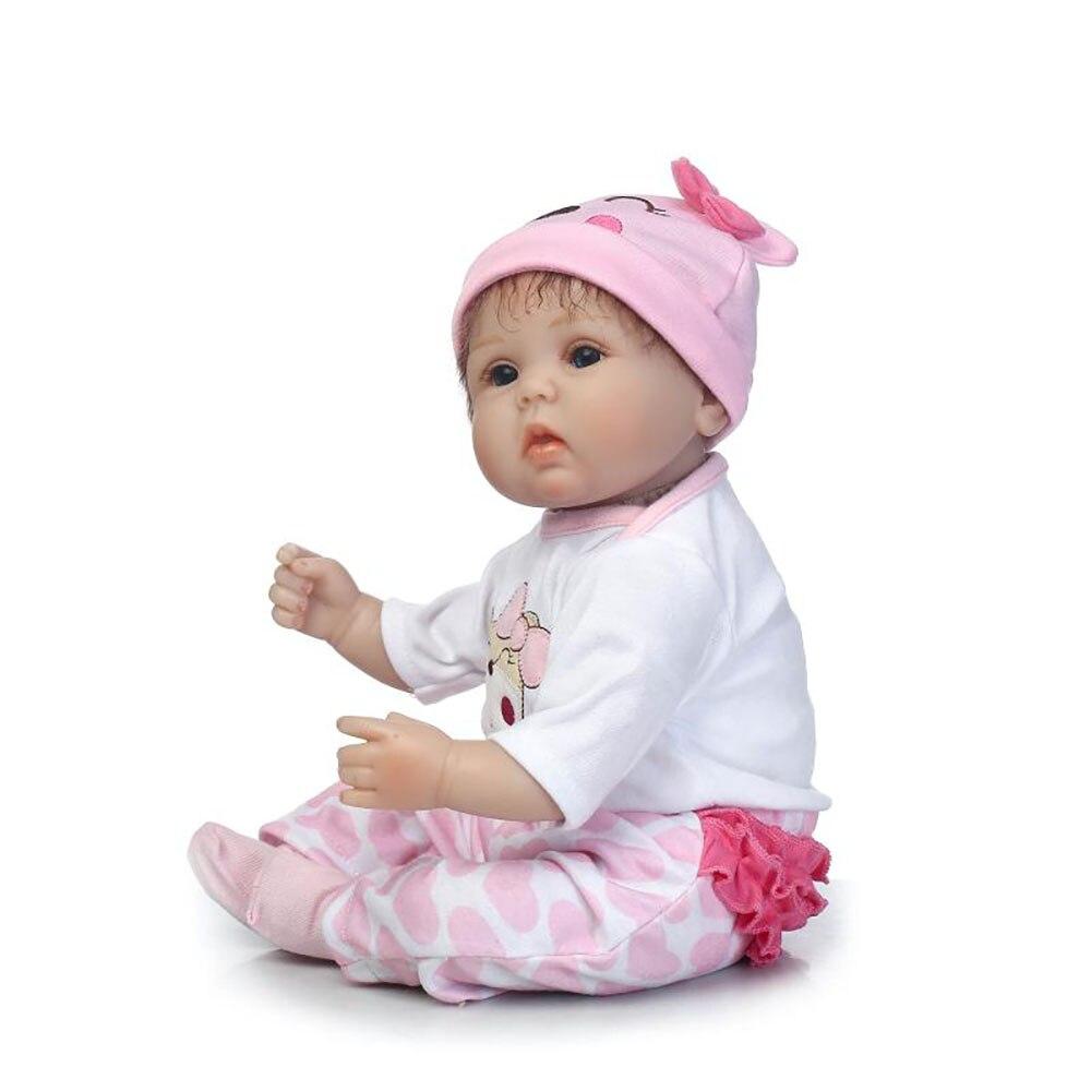 40cm recién nacido muñecas bebe bebe muñecas renacidas niños - Muñecas y accesorios - foto 4