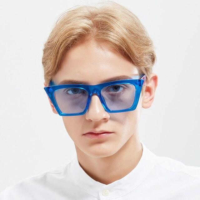 f64f2eb28a89 Fashion Cat Eye Sunglasses Women Brand Designer 2017 Mirror Ladies  Sunglasses Cateye Tint Lens Female Transparent Eyewear UV400