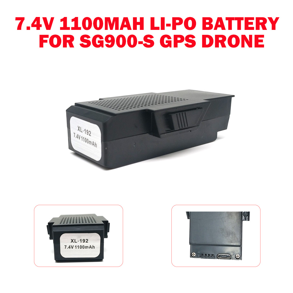 x192 SG900S GPS Drone Battery Spare Replaceable 7 4V 1100 MAH LI PO for  SG900-S DRONE