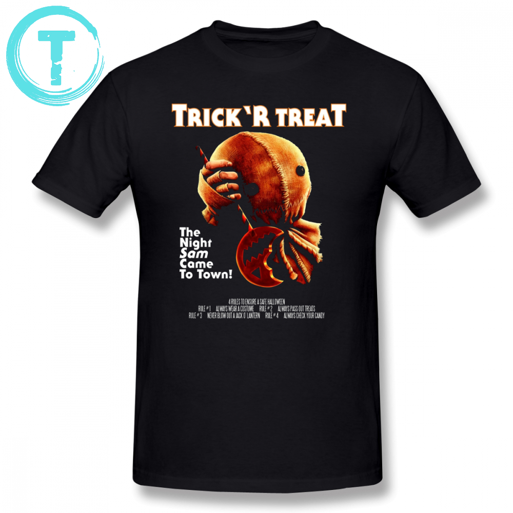 Michael Myers T Shirt Trick R Treat Halloween Mashup T