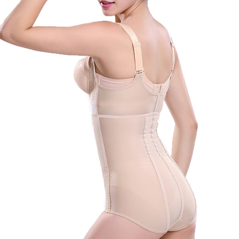 Slim Femmes Sous Vêtements En Dentelle Décoration Taille Formateur Corps Shapers Chaude Taille Corsets Standard Sculpture Mince Body Shaperwear - 3