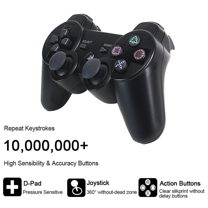 cheapest For SONY PS3 Controller Bluetooth Wireless Gamepad for Play Station 3 Joystick Console for Dualshock 3 SIXAXIS Controle For PC