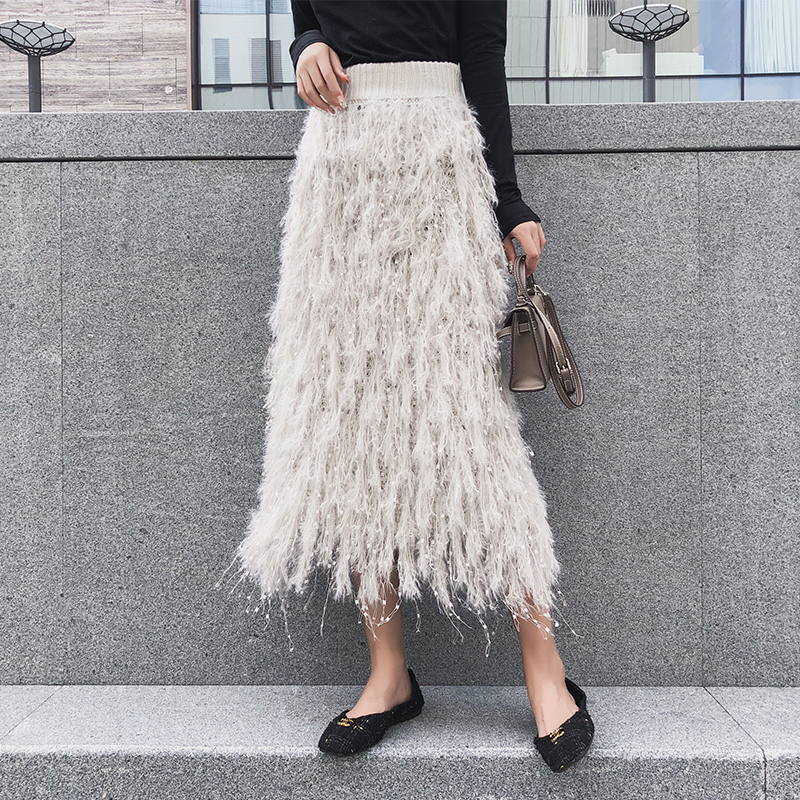913633bf0f Buy feather skirt and get free shipping on AliExpress.com