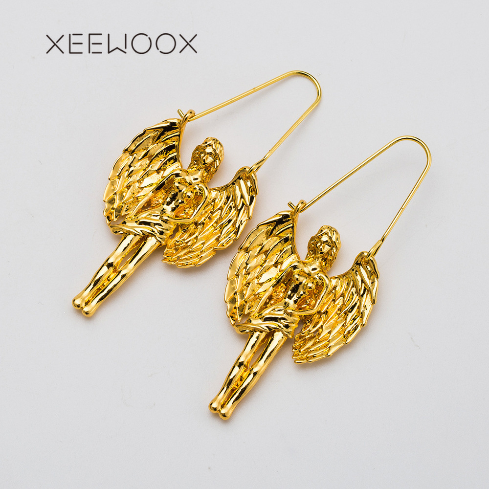 Jewelry & Accessories Xeewoox 2019 New Brand Fashion Virgo Earrings Women Party Metal Drop Earrings Bohemian Alloy Jewelry Gift With Traditional Methods
