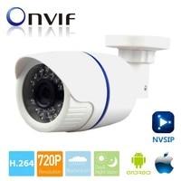 HD 720P IP Camera Bullet Outdoor Indoor CCTV Security Camera ONVIF Waterproof Night Vision P2P IP